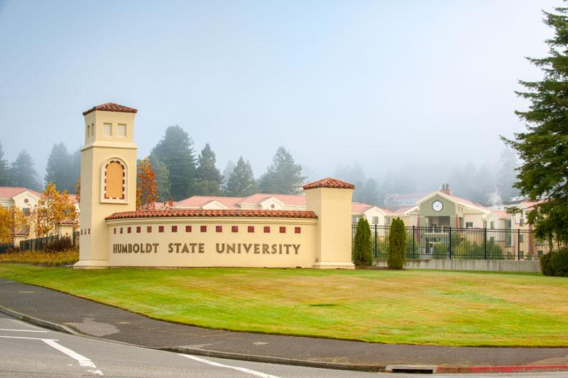 Humboldt State University - Entrance
